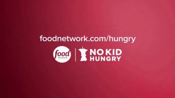 No Kid Hungry TV Spot, 'Holidays: One in Six' Featuring Bobby Flay, Guy Fieri and Alton Brown - Thumbnail 8