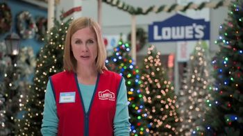 Lowe's Black Friday Deals TV Spot, 'Peace on Earth: 25 Percent Off Trees'