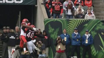 GEICO TV Spot, 'CBS Sports: Play of the Day: The Browns Fans' - 3 commercial airings