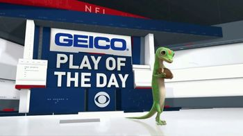 GEICO TV Spot, 'CBS Sports: Play of the Day: The Browns Fans' - Thumbnail 1