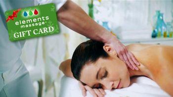 Elements Massage Black Friday Sale TV Spot, 'Holiday Shopping Season: Gift Card'