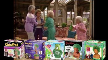 Chia Pet TV Spot, 'Holiday Pets: The Golden Girls'