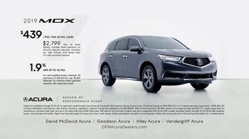 Acura Season of Performance Event TV Spot, '2019 MDX' [T2] - Thumbnail 3