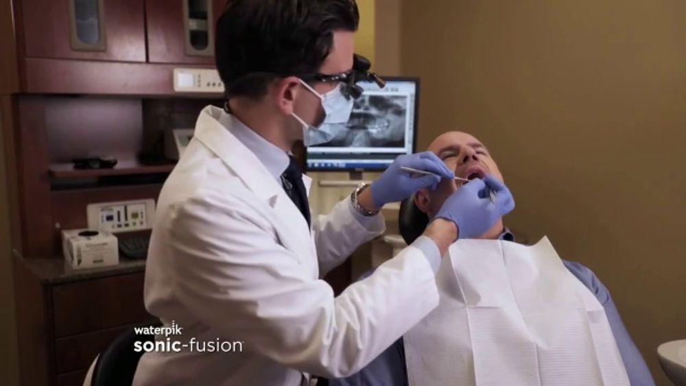 Waterpik Sonic Fusion TV Commercial, 'Floss and Brush at the Same Time'