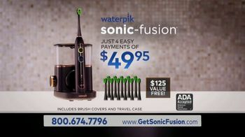 Waterpik Sonic Fusion TV Spot, 'Floss and Brush at the Same Time' - Thumbnail 10