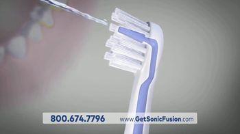 Waterpik Sonic Fusion TV Spot, 'Floss and Brush at the Same Time' - Thumbnail 3