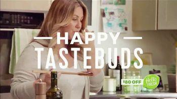 HelloFresh TV Spot, 'Fresh Ingredients: $80 Off'