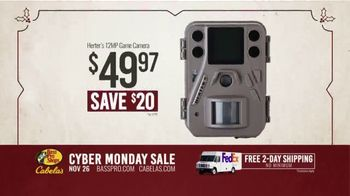 Bass Pro Shops Cyber Monday Sale TV Spot, 'Shirts, Cameras and Boots' - Thumbnail 7
