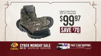 Bass Pro Shops Cyber Monday Sale TV Spot, 'Shirts, Cameras and Boots' - Thumbnail 8