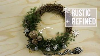 Hobby Lobby TV Spot, 'Holidays: Farmhouse Wreath'