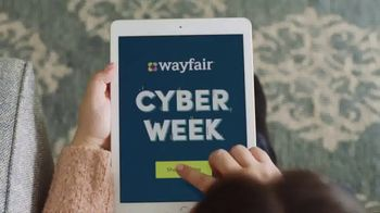 Wayfair Cyber Week TV Spot, 'Savings Machine' - 471 commercial airings