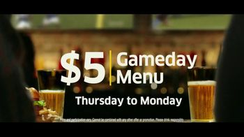 Buffalo Wild Wings $5 Gameday Menu TV Spot, 'Time to Collect' - Thumbnail 9