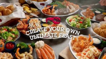 Red Lobster Create Your Own Ultimate Feast TV Spot, \'Get Your Feast On\'