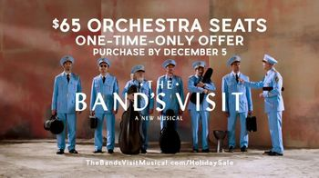 The Band's Visit Holiday Sale TV Spot, 'Orchestra Seats' - Thumbnail 9