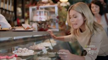 Ancestry Black Friday Cyber Monday Sale TV Spot, 'DNA Results' Featuring Kelly Ripa - 1481 commercial airings