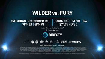 Showtime Pay-Per-View TV Spot, 'Wilder vs. Fury' Song by Billie Eilish - Thumbnail 9