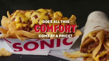 Sonic Drive-In Fritos Chili Cheese Faves TV Spot, 'Price of Comfort'