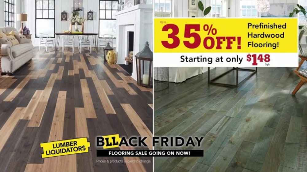 Lumber Liquidators Black Friday Flooring Sale TV Commercial, 'Lowest Prices  of the Year' - Video