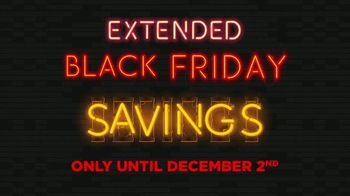 Tire Kingdom Extended Black Friday Savings TV Spot, 'Buy Two Tires, Get Two'