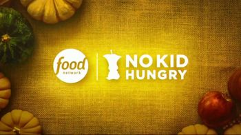 No Kid Hungry TV Spot, 'Food Network Stars: The Power of $1' Ft. Guy Fieri, Alton Brown, Bobby Flay - Thumbnail 1