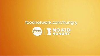 No Kid Hungry TV Spot, 'Food Network Stars: The Power of $1' Ft. Guy Fieri, Alton Brown, Bobby Flay - Thumbnail 10