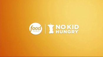 No Kid Hungry TV Spot, 'Food Network Stars: The Power of $1' Ft. Guy Fieri, Alton Brown, Bobby Flay - Thumbnail 9