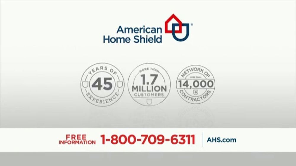 American Home Shield Tv Commercial Their Time No Obligation Quote