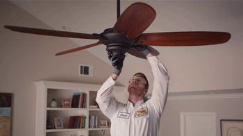 Mister Sparky TV Spot, 'Don't Do It Yourself: Ceiling Fan' - Thumbnail 5