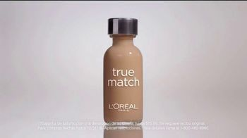 L'Oreal Paris True Match TV Spot, '45 tonos' con Aja Naomi King [Spanish] - Thumbnail 9