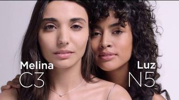 L'Oreal Paris True Match TV Spot, '45 tonos' con Aja Naomi King [Spanish] - 620 commercial airings