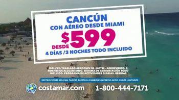 Costamar Travel TV Spot, 'Vacaciones inolvidables: Cancún' [Spanish]