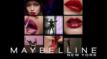 Maybelline Shine Compulsion TV Spot, 'Siente la atracción' [Spanish] - 253 commercial airings