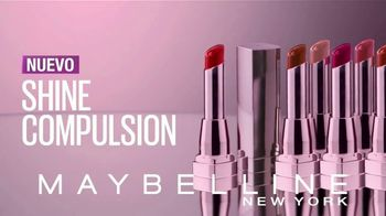 Maybelline Shine Compulsion TV Spot, 'Siente la atracción' [Spanish] - Thumbnail 7
