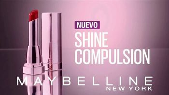 Maybelline Shine Compulsion TV Spot, 'Siente la atracción' [Spanish] - Thumbnail 3