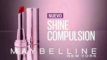 Maybelline Shine Compulsion TV Spot, 'Siente la atracción' [Spanish]