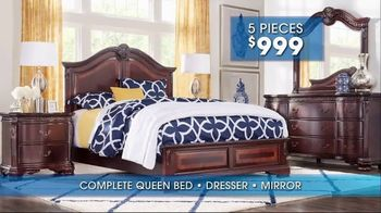 Rooms to Go Summer Sale and Clearance TV Spot, 'Bedroom' - Thumbnail 3
