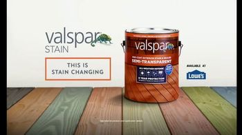 Valspar TV Spot, 'Dare to Stain' - Thumbnail 9