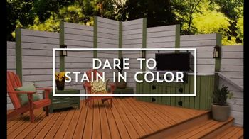Valspar TV Spot, 'Dare to Stain'