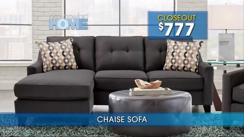 Rooms To Go Summer Sale And Clearance TV Commercial, U0027Cindy Crawford Home  Sofasu0027   ISpot.tv