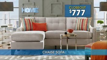 Rooms to Go Summer Sale and Clearance TV Spot, 'Cindy Crawford Home Sofas' - Thumbnail 2