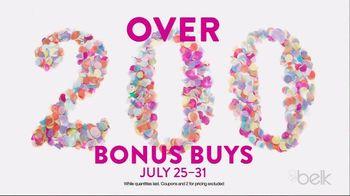 Belk Days TV Spot, 'Back to School Bonus Buys'
