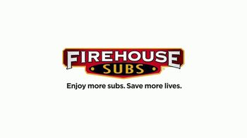 Firehouse $4.99 Choice Subs TV Spot, 'Equipment for First Responders' - Thumbnail 9