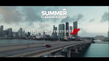 Dodge Summer Clearance Event TV Spot, 'Closed Courses' [T2] - Thumbnail 7