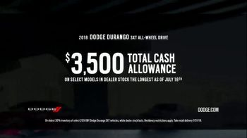 Dodge Summer Clearance Event TV Spot, 'Closed Courses' [T2] - Thumbnail 4