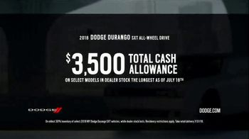 Dodge Summer Clearance Event TV Spot, 'Closed Courses' [T2] - Thumbnail 5