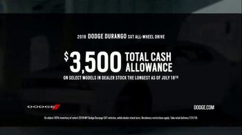 Dodge Summer Clearance Event TV Spot, 'Closed Courses' [T2] - Thumbnail 6