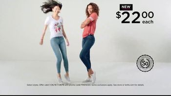 Kohl's Friends and Family Sale TV Spot, 'Jeggings and Vans' - Thumbnail 4