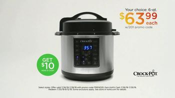 Kohl's Friends and Family Sale TV Spot, 'Kitchen Electrics and Luggage' - Thumbnail 5