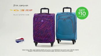 Kohl's Friends and Family Sale TV Spot, 'Kitchen Electrics and Luggage' - Thumbnail 6