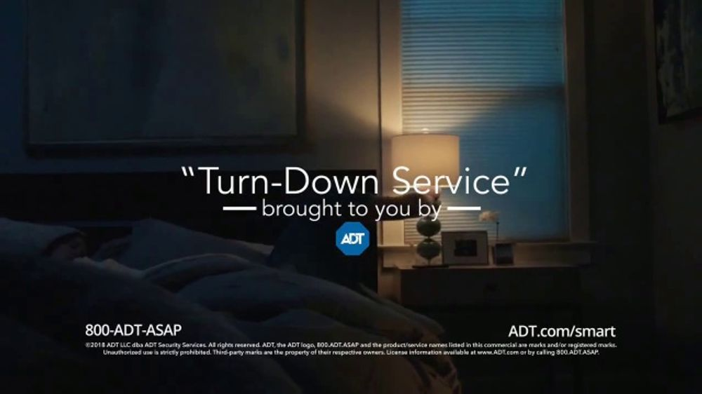 ADT TV Commercial, 'Turn-Down Service'